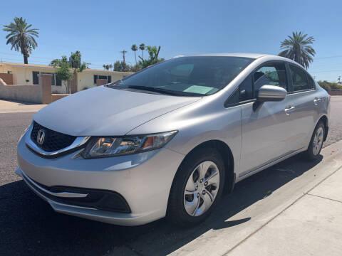 2015 Honda Civic for sale at Hyatt Car Company in Phoenix AZ