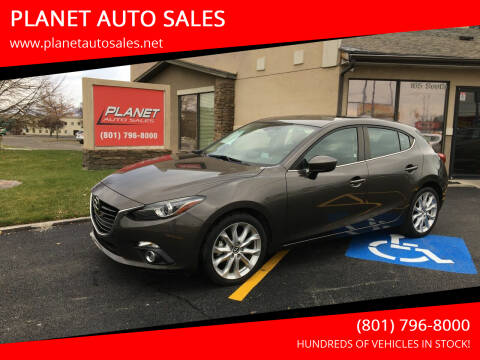 2016 Mazda MAZDA3 for sale at PLANET AUTO SALES in Lindon UT