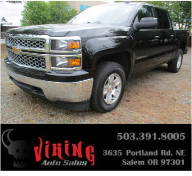 2015 Chevrolet Silverado 1500 for sale at VIking Auto Sales LLC in Salem OR