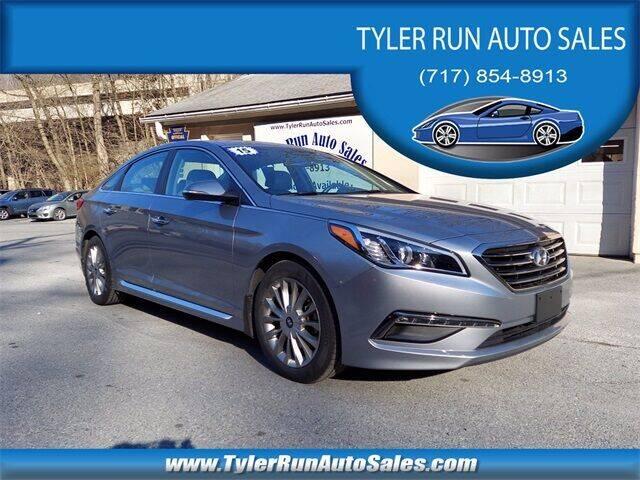 2015 Hyundai Sonata for sale at Tyler Run Auto Sales in York PA