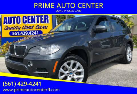 2012 BMW X5 for sale at PRIME AUTO CENTER in Palm Springs FL