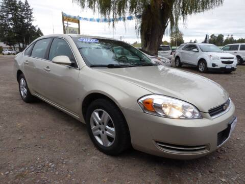 2009 Chevrolet Impala for sale at VALLEY MOTORS in Kalispell MT