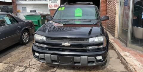 2003 Chevrolet TrailBlazer for sale at Frank's Garage in Linden NJ