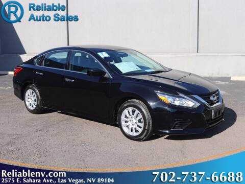 2016 Nissan Altima for sale at Reliable Auto Sales in Las Vegas NV