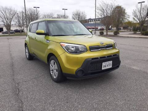 2016 Kia Soul for sale at A&R MOTORS in Portsmouth VA