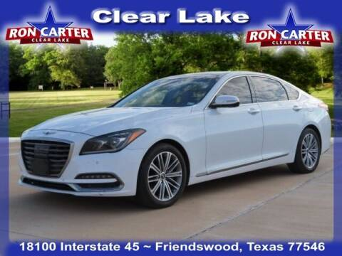 2018 Genesis G80 for sale at Ron Carter  Clear Lake Used Cars in Houston TX
