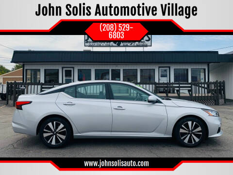 2020 Nissan Altima for sale at John Solis Automotive Village in Idaho Falls ID