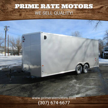2021 Charmac 8' x 20' Stealth Cargo for sale at PRIME RATE MOTORS in Sheridan WY