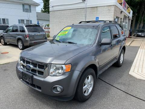2012 Ford Escape for sale at Quincy Shore Automotive in Quincy MA