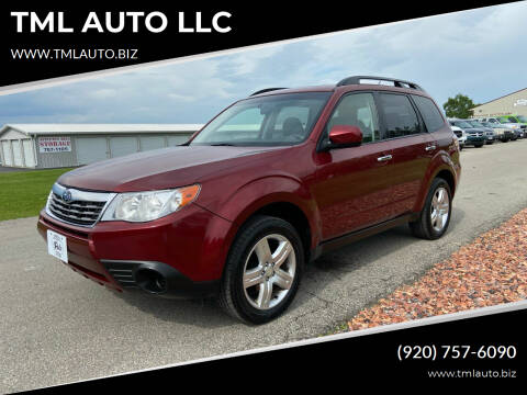 2009 Subaru Forester for sale at TML AUTO LLC in Appleton WI