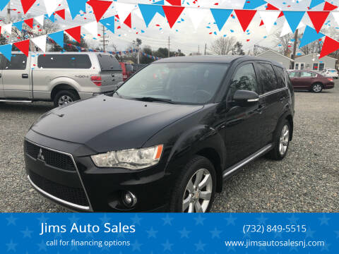 2011 Mitsubishi Outlander for sale at Jims Auto Sales in Lakehurst NJ