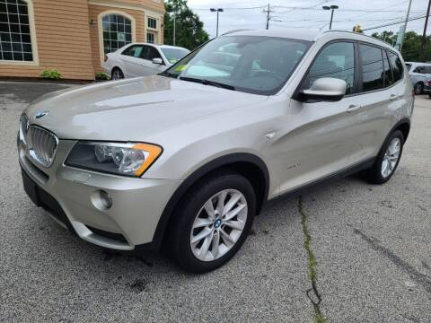 2014 BMW X3 for sale at Car and Truck Exchange, Inc. in Rowley MA