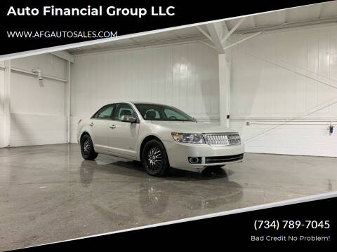 2008 Lincoln MKZ for sale at Auto Financial Group LLC in Flat Rock MI