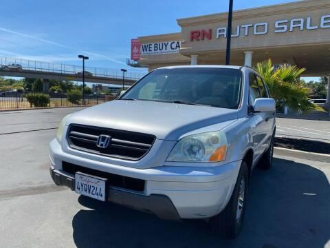 2003 Honda Pilot for sale at RN Auto Sales Inc in Sacramento CA
