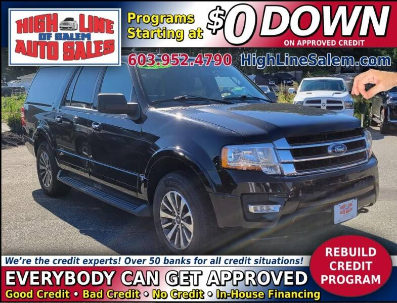 2017 Ford Expedition EL for sale at High Line Auto Sales of Salem in Salem NH