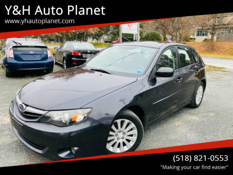 2011 Subaru Impreza for sale at Y&H Auto Planet in West Sand Lake NY