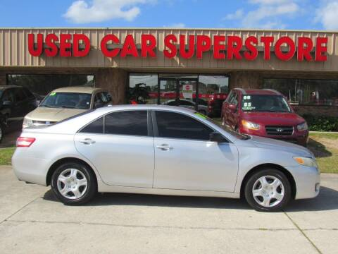 2010 Toyota Camry for sale at Checkered Flag Auto Sales NORTH in Lakeland FL