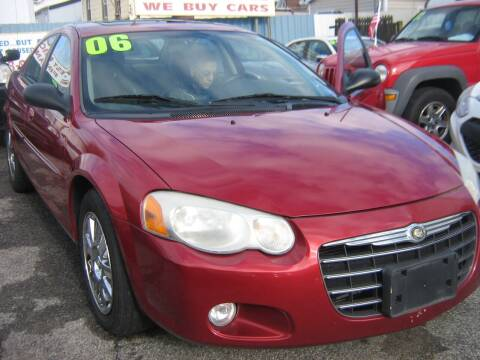 2006 Chrysler Sebring for sale at JERRY'S AUTO SALES in Staten Island NY