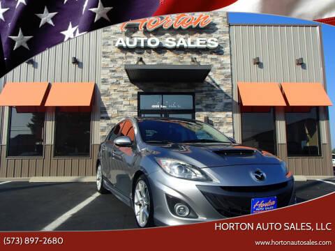 2012 Mazda MAZDASPEED3 for sale at HORTON AUTO SALES, LLC in Linn MO