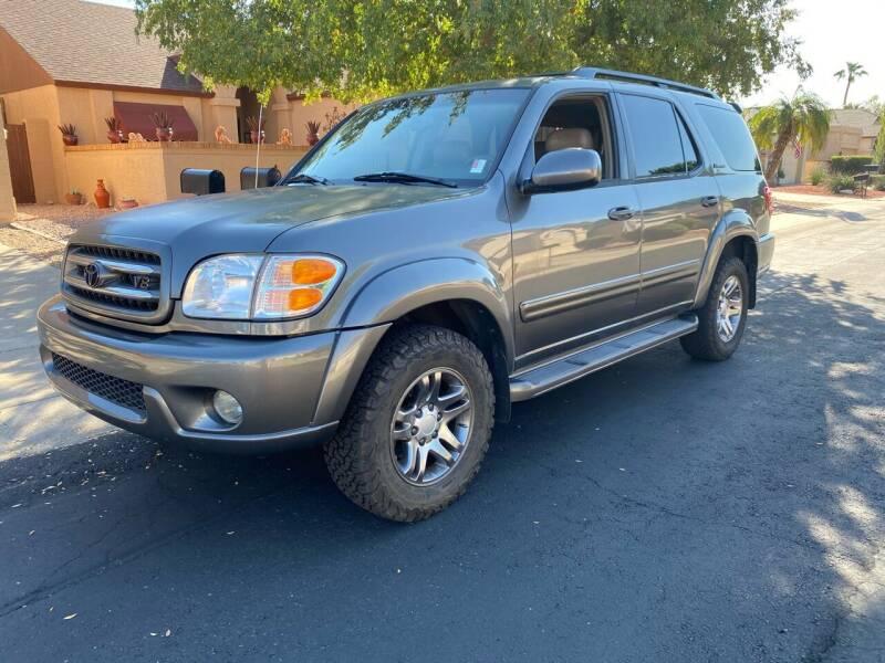 2004 Toyota Sequoia for sale at EV Auto Sales LLC in Sun City AZ