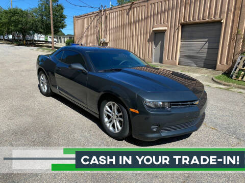 2015 Chevrolet Camaro for sale at Horizon Auto Sales in Raleigh NC