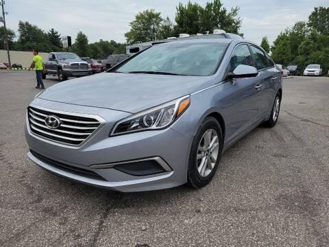 2016 Hyundai Sonata for sale at Cruisin' Auto Sales in Madison IN