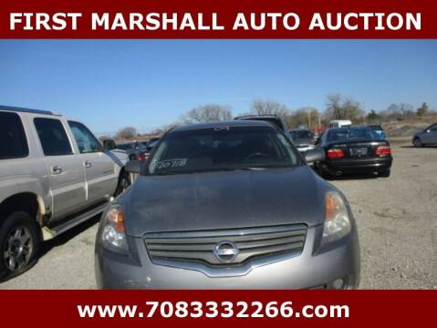 2009 Nissan Altima for sale at First Marshall Auto Auction in Harvey IL