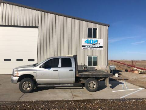 2006 Dodge Ram Pickup 2500 for sale at 402 Autos in Lindsay NE