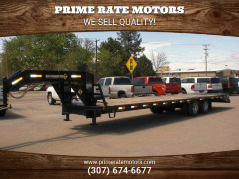 2021 Diamond-T 27'+5' Goose-Neck Tandem Axle for sale at PRIME RATE MOTORS in Sheridan WY