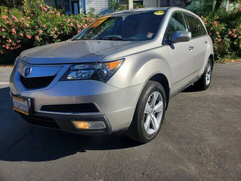 2011 Acura MDX for sale at ALL CREDIT AUTO SALES in San Jose CA
