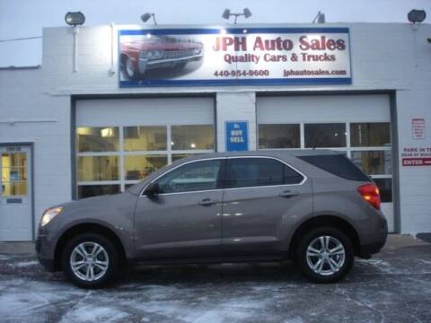2010 Chevrolet Equinox for sale at JPH Auto Sales in Eastlake OH