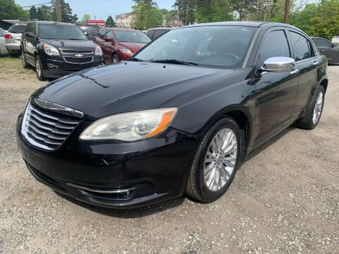 2011 Chrysler 200 for sale at ATLANTA AUTO WAY in Duluth GA