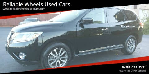 2014 Nissan Pathfinder for sale at Reliable Wheels Used Cars in West Chicago IL