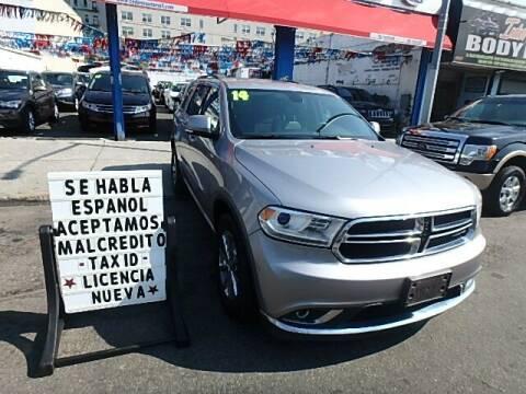 2014 Dodge Durango for sale at Cedano Auto Mall Inc in Bronx NY