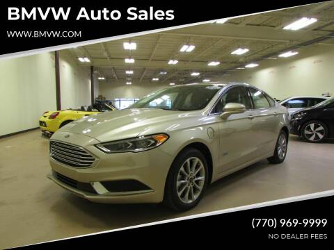 2018 Ford Fusion Energi for sale at BMVW Auto Sales - Plug-In Hybrids in Union City GA