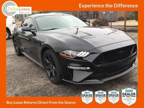 2019 Ford Mustang for sale at Dallas Auto Finance in Dallas TX