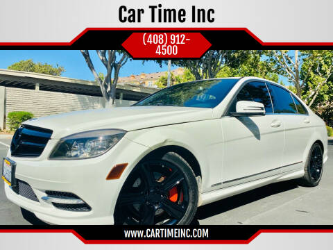 2011 Mercedes-Benz C-Class for sale at Car Time Inc in San Jose CA
