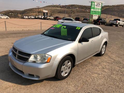 2009 Dodge Avenger for sale at Hilltop Motors in Globe AZ