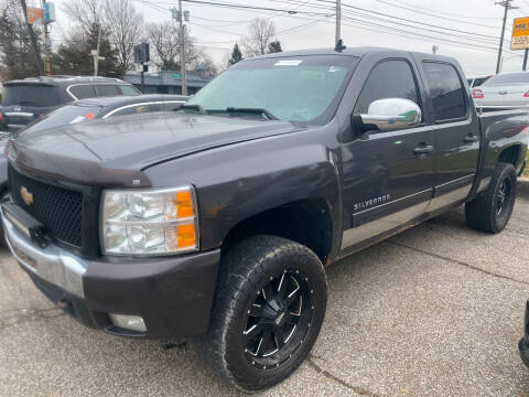 2010 Chevrolet Silverado 1500 for sale at GREENLIGHT AUTO SALES in Akron OH