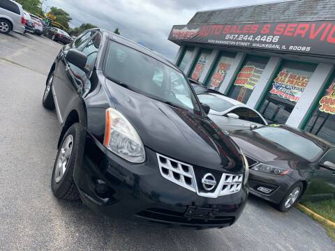 2011 Nissan Rogue for sale at Washington Auto Group in Waukegan IL