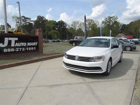 2016 Volkswagen Jetta for sale at J T Auto Group in Sanford NC