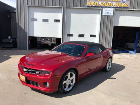 2013 Chevrolet Camaro for sale at Sunset Auto Sales & Repair in Lasalle CO