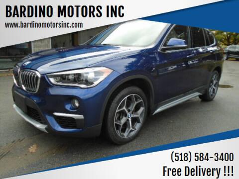 2018 BMW X1 for sale at BARDINO MOTORS INC in Saratoga Springs NY