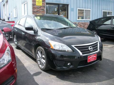 2013 Nissan Sentra for sale at Lloyds Auto Sales & SVC in Sanford ME