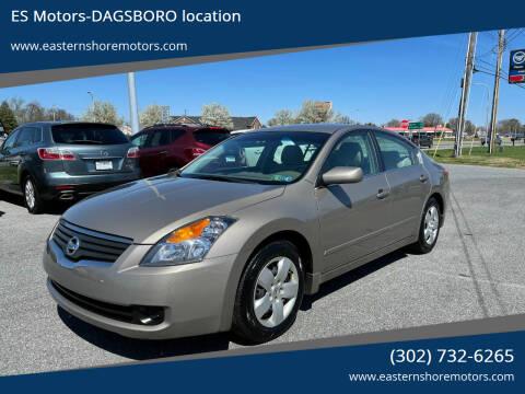 2008 Nissan Altima for sale at ES Motors-DAGSBORO location in Dagsboro DE