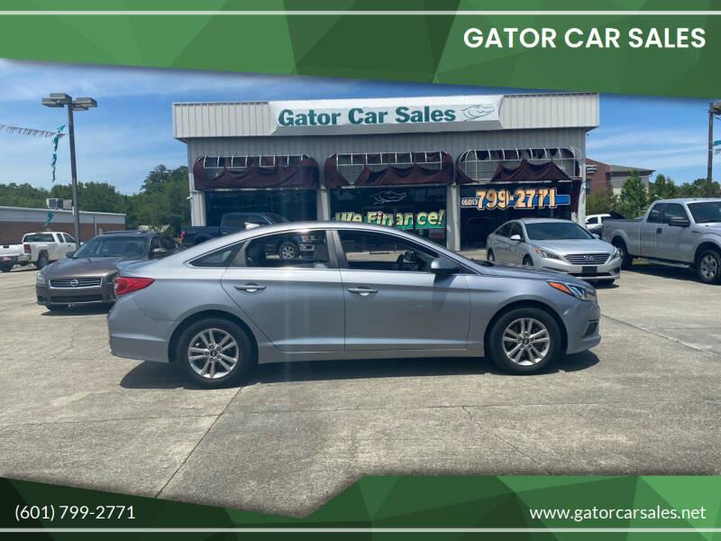 2016 Hyundai Sonata for sale at Gator Car Sales in Picayune MS