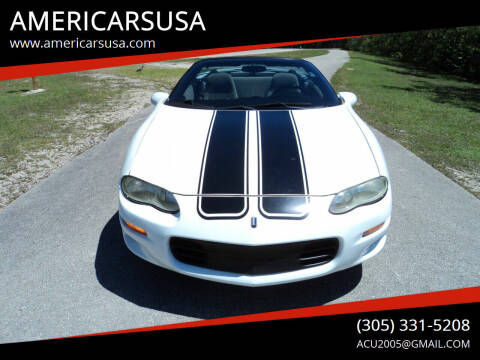 2001 Chevrolet Camaro for sale at Americarsusa in Hollywood FL