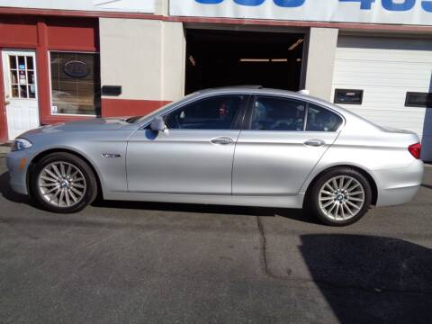 2013 BMW 5 Series for sale at Best Choice Auto Sales Inc in New Bedford MA