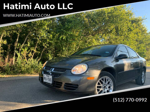 2004 Dodge Neon for sale at Hatimi Auto LLC in Buda TX