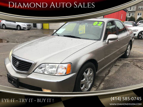 2002 Acura RL for sale at Diamond Auto Sales in Milwaukee WI